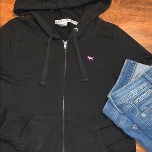 Pink Victoria's Secret Zip Up Jacket